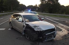 Polizeiinspektion Cuxhaven: POL-CUX: 24-Jährige übersieht Gegenverkehr im Bereich der Anschlussstelle Debstedt - 32-Jähriger leicht verletzt