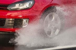 GTÜ Gesellschaft für Technische Überwachung GmbH: GTÜ-Servicethema Reifen: Richtiger Luftdruck und ausreichend Profil sind für die Sicherheit entscheidend