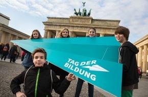 Stifterverband für die Deutsche Wissenschaft: Aufruf zu mehr Bildungschancen / Auftakt zum ersten Tag der Bildung