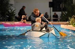 Hamburg Messe und Congress GmbH: Volle Fahrt voraus! / hanseboot lockt mit Superlativen / Attraktive Aktionen machen Lust auf Wassersport