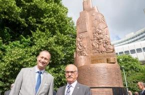 OPEC Fund for International Development (OFID): OFID Monument als ein bleibendes Dankeschön an die Stadt Wien