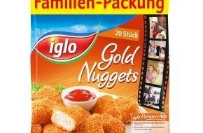 iglo Deutschland: Da werden alle satt: iglo Gold Nuggets und Carlchen's Dippers ab sofort für die ganze Familie