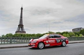 Skoda Auto Deutschland GmbH: Starke Partner: SKODA zum bereits zwölften Mal Sponsor der Tour de France