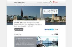 Hamburger Sparkasse: Strategische Partnerschaft: Haspa und betterplace.org starten regionales Online-Spendenportal