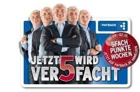 PAYBACK GmbH: 5 Rudi Völlers sammeln 5fache Punkte mit den PAYBACK Kunden (mit Bild)