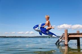 DVAG Deutsche Vermögensberatung AG: Urlaubszeit ist Badezeit / Im Sommer treibt es viele Deutsche an Badegewässer / Diese bergen jedoch auch ein hohes Verletzungsrisiko / Die Deutsche Vermögensberatung AG gibt Sicherheitstipps