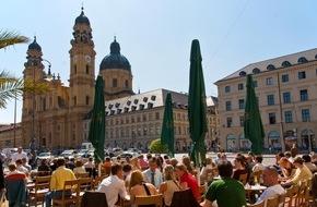 München Tourismus: Rekord: Tourismus in München - Positive Jahresbilanz 2015 und frischer Start in den Münchner Frühling