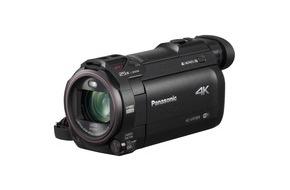 Panasonic Deutschland: Panasonic 4K Camcorder mit 4K Cropping, 4K Foto, Wireless Multi Camera, Kino-Effekten und mehr / Die perfekte (Auf)Lösung für kreative Video-Produktionen