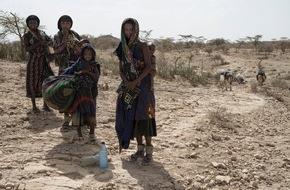 Caritas Schweiz / Caritas Suisse: Caritas Suisse a augmenté son aide d'urgence à deux millions de francs en Afrique de l'Est / En Ethiopie, 10 millions de personnes sont menacées de famine (IMAGE)