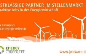 Jobware Online-Service GmbH: Neue Synergien im Stellenmarkt / Jobware und energycareer.net bauen Kooperation im Stellenmarkt aus