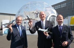Messe Berlin GmbH: Eröffnungsbericht: ILA Berlin Air Show 2016 präsentiert sich als Innovationsplattform der globalen Aerospace-Industrie