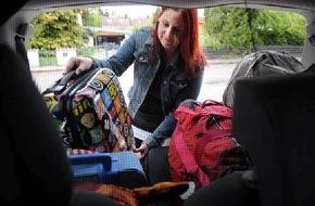 TÜV SÜD AG: Sicher in den Urlaub - Praxistipps fürs richtige Beladen