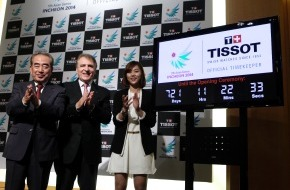 TISSOT S.A.: Tissot, offizieller Zeitnehmer der 17. Asienspiele 2014 in Incheon