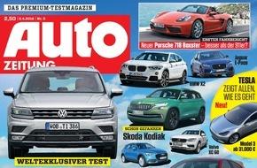 Bauer Media Group, AUTO ZEITUNG: Design Trophy 2016: Mercedes ist die schönste Automarke / AUTO ZEITUNG-Leser küren die Design-Sieger der Automobil-Industrie