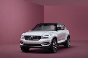 Volvo Cars: Volvo enthüllt zwei Konzeptfahrzeuge auf Basis der neuen kompakten Modular-Architektur