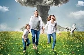 """Sky Deutschland: Midlife-Crisis und Jugendwahn: Sky zeigt die satirische Showtime-Serie """"Happyish"""""""