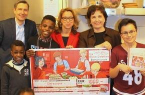 """Stiftung Mittagskinder: Mittagskinder kochen mit den """"Alster-Detektiven"""""""