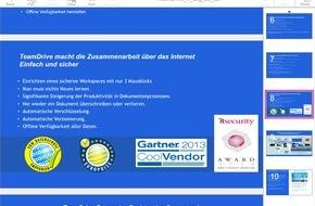 TeamDrive Systems GmbH: SecureOffice: Sichere Datensynchronisation auf mobilen Endgeräten mit direkter Office-Integration