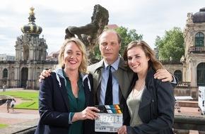 """MDR: MDR-Tatort """"Auf einen Schlag"""" (AT) / Einladung zum Pressetermin am Set am 8. Oktober 2015 in Dresden"""