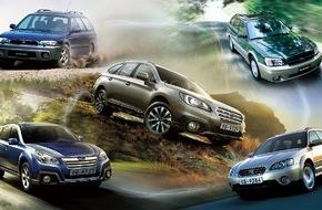 Subaru: 20 Jahre Outback: das Original unter den Offroad-Kombis