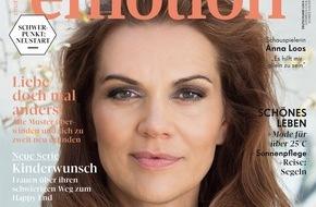 """EMOTION Verlag GmbH: Anna Loos: """"Bei meinen Freunden habe ich den Spitznamen 'Duracell'"""""""