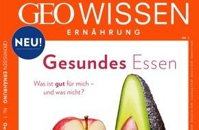 Gruner+Jahr, GEO Wissen: GEO WISSEN startet neue Heftreihe zum Thema Ernährung