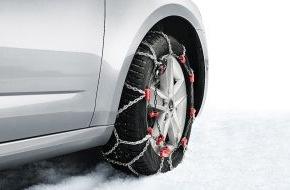 Skoda Auto Deutschland GmbH: Umfangreiches Zubehör und attraktive Angebote: Mit SKODA sicher durch den Winter