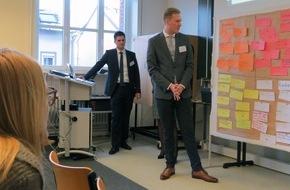 Hochschule Fresenius: Studierende treffen Start-ups und Mentoren - Hochschule Fresenius kooperiert mit der Wissensfabrik