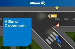 Allianz Suisse: Feu vert donné à la nouvelle application d'Allianz Suisse / Votre dernière formation routière suivie remonte à plusieurs années déjà. Connaissez-vous encore les règles de priorité?