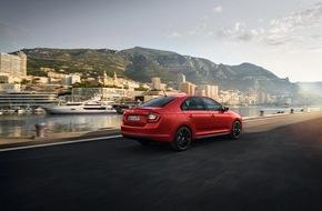 Skoda Auto Deutschland GmbH: Start frei für attraktiven Rapid Monte Carlo und neue Ausstattungsoptionen