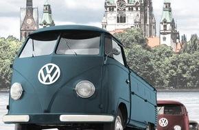 Hannover Marketing und Tourismus GmbH: 60 Jahre Bulli - Made in Hannover / Bulli-Bummel zum Jubiläum!