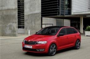 Skoda Auto Deutschland GmbH: SKODA Rapid Spaceback gewinnt weltweit renommierten Red Dot-Designpreis