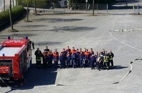 Feuerwehr Arnsberg: FW-AR: Ereignisreiches Jugendlager des Basislöschzugs 3