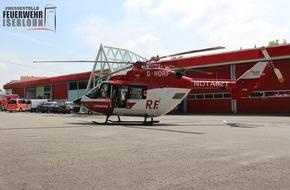 Feuerwehr Iserlohn: FW-MK: Rettungshubschraubereinsatz in Iserlohn - Wermingsen