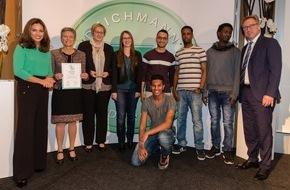 DEICHMANN SE: DEICHMANN-Förderpreis für Integration: Preisträger zeigen großes Engagement für die Integration von Flüchtlingen