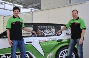 Skoda Auto Deutschland GmbH: SKODA AUTO Deutschland startet mit Junior-Team in die IRC 2012 (mit Bild)