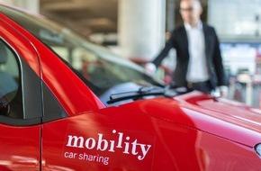 Mobility Carsharing Schweiz: Mobility sprengt die 120'000-Kunden-Marke