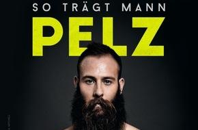 "PETA Deutschland e.V.: Marco Sailer für PETA: ""So trägt Mann Pelz"" - SV Darmstadt-Stürmer kämpft gegen die Pelzindustrie"