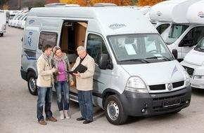 ADAC: ADAC Autovermietung GmbH: Einmal mit dem Wohnmobil verreisen / ADAC gibt Tipps, worauf man achten sollte