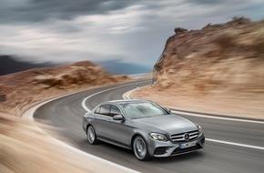Mercedes-Benz Schweiz AG: Die Diesel-Zukunft beginnt in der Mercedes-Benz E-Klasse / Sparsamer und stärker, leichter und kompakter