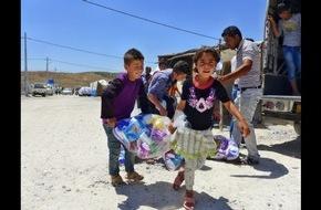 ASB-Bundesverband: Ein Jahr nach der Massenflucht: ASB hilft mehr als 3.000 Familien im Nordirak / Welttag der humanitären Hilfe