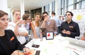 HPI Hasso-Plattner-Institut: Intensivtraining für Innovationstreiber der Wirtschaft / Entscheider trainieren in Potsdam das Managen von Komplexität durch Design Thinking