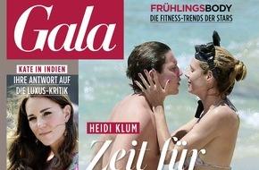 Gruner+Jahr, Gala: Im Bett mit Verona Pooth: erotische Lippenbekenntnisse von Deutschlands quirligster Prominenten