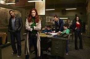 "SAT.1: Gut mit bösen Jungs: Debra Messing ermittelt als ""Detective Laura Diamond"" ab 2. Februar um 20:15 Uhr in SAT.1"