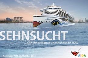 AIDA Cruises: AIDA mit neuem Katalog und spannenden Routen: Kreuzfahrten bis April 2017 buchbar