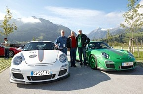 Zell am See-Kaprun: Porsche-Liebhaber auf Heimat-Kurs