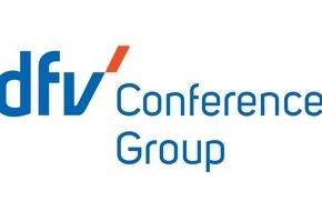 """dfv Mediengruppe: Aus """"The Conference Group"""" wird """"dfv Conference Group"""" / Veranstaltungsexperten der dfv Mediengruppe mit neuem Markenauftritt"""