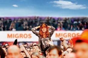 Migros-Genossenschafts-Bund: Im M-Budget-Extrazug günstig an drei Open-Airs