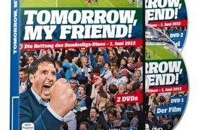 """HSV Fußball AG: HSV-Presseservice: """"Tomorrow, my friend!"""" - Doppel-DVD als ein Stück HSV-Zeitgeschichte"""