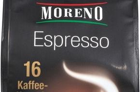 Unternehmensgruppe ALDI Nord: Spitzenqualität und super Preis - ALDI Nord erweitert Kaffeesortiment um Kaffeekapseln